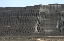 radioactivity in coal mine spoils and dust from an open pit mine